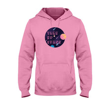 Load image into Gallery viewer, Take Up Space Classic Fit Pullover Hooded Sweatshirt-Sweatshirts-Safety Pink-S-AllGo