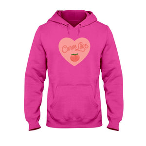 Curve Love Classic Fit Pullover Hooded Sweatshirt-Sweatshirts-Heliconia-S-AllGo