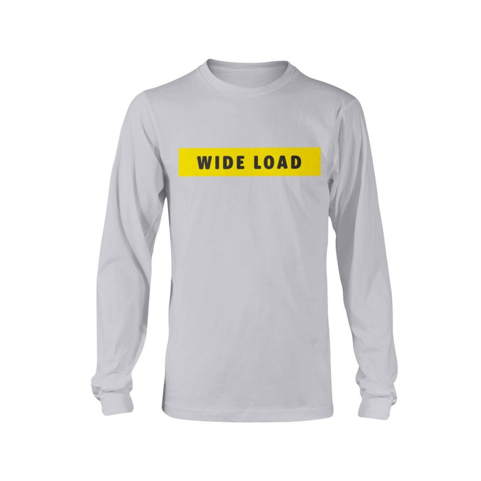 WIDELOAD Classic Fit Long Sleeve T-Shirt-Shirts-Ash-S-AllGo