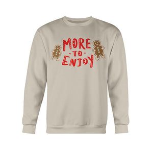 More to Enjoy Classic Fit Crewneck Sweatshirt-Sweatshirts-Sand-S-AllGo
