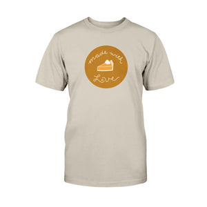 Made with Love Classic Fit Tagless T-Shirt-Shirts-Sand-S-AllGo