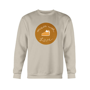 Made with Love Classic Fit Crewneck Sweatshirt-Sweatshirts-Sand-S-AllGo