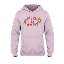 Load image into Gallery viewer, More to Enjoy Classic Fit Pullover Hooded Sweatshirt-Sweatshirts-Light Pink-S-AllGo