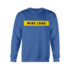 WIDELOAD Classic Fit Crewneck Sweatshirt-Sweatshirts-Royal Blue-S-AllGo