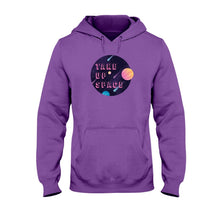 Load image into Gallery viewer, Take Up Space Classic Fit Pullover Hooded Sweatshirt-Sweatshirts-Purple-S-AllGo