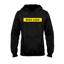 Load image into Gallery viewer, WIDELOAD Classic Fit Pullover Hooded Sweatshirt-Sweatshirts-Black-S-AllGo