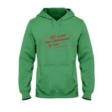 Load image into Gallery viewer, All I Want for Christmas is You (to Stop Body Shaming Me) Classic Fit Pullover Hooded Sweatshirt-Sweatshirts-Irish Green-S-AllGo
