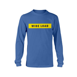 WIDELOAD Classic Fit Long Sleeve T-Shirt-Shirts-Royal Blue-S-AllGo