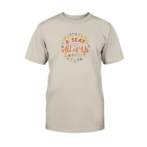 A Seat for All of Us Classic Fit Tagless T-Shirt-Shirts-Sand-S-AllGo