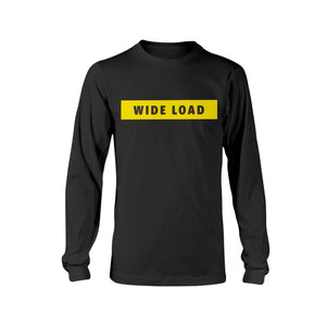 WIDELOAD Classic Fit Long Sleeve T-Shirt-Shirts-Black-S-AllGo