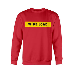 WIDELOAD Classic Fit Crewneck Sweatshirt-Sweatshirts-Cherry Red-S-AllGo