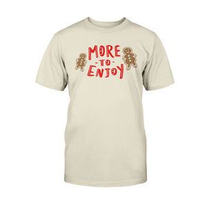 More to Enjoy Classic Fit Tagless T-Shirt-Shirts-Natural-S-AllGo