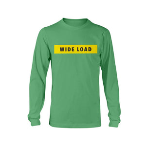 WIDELOAD Classic Fit Long Sleeve T-Shirt-Shirts-Irish Green-S-AllGo