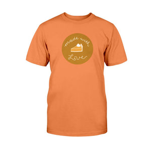Made with Love Classic Fit Tagless T-Shirt-Shirts-Orange-S-AllGo
