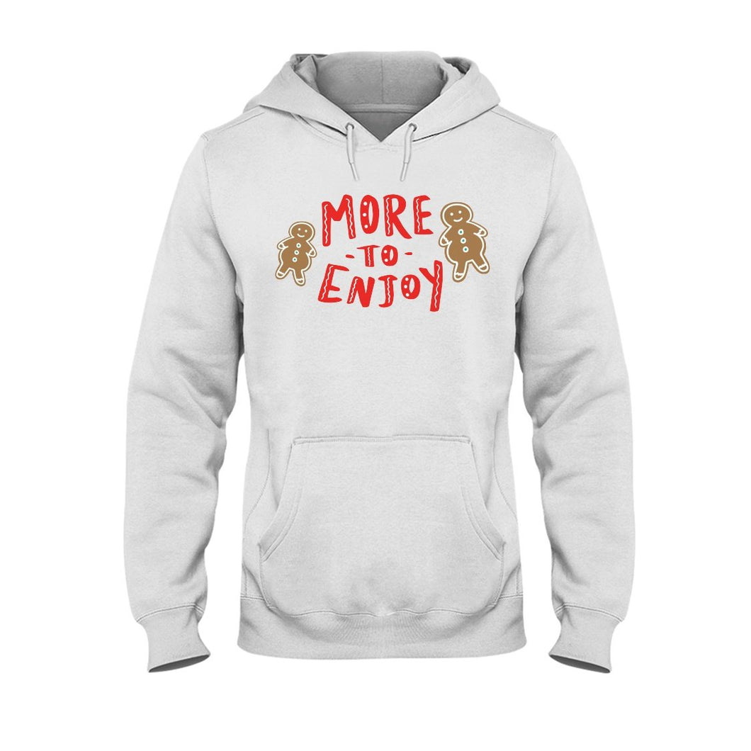 More to Enjoy Classic Fit Pullover Hooded Sweatshirt-Sweatshirts-White-S-AllGo