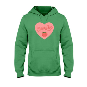 Curve Love Classic Fit Pullover Hooded Sweatshirt-Sweatshirts-Irish Green-S-AllGo