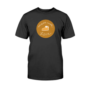 Made with Love Classic Fit Tagless T-Shirt-Shirts-Black-S-AllGo