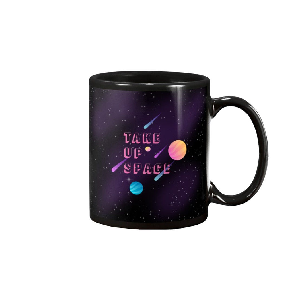Take Up Space Extra Large Mug-Mugs-Black-15OZ-AllGo