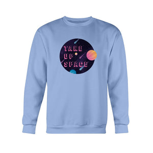 Take Up Space Classic Fit Crewneck Sweatshirt-Sweatshirts-Carolina Blue-S-AllGo