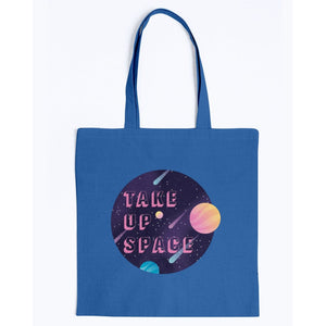 Take Up Space Canvas Tote-Accessories-Royal-M-AllGo