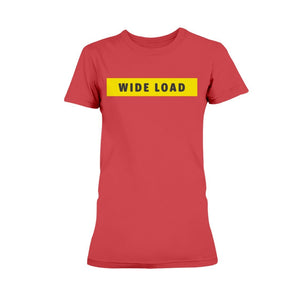 WIDELOAD Fitted Short Sleeve T-Shirt-Shirts-Red-XS-AllGo