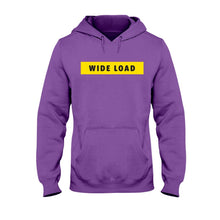 Load image into Gallery viewer, WIDELOAD Classic Fit Pullover Hooded Sweatshirt-Sweatshirts-Purple-S-AllGo