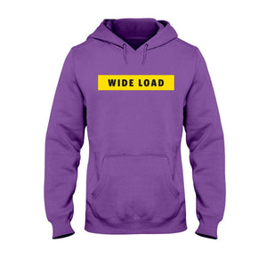 WIDELOAD Classic Fit Pullover Hooded Sweatshirt-Sweatshirts-Purple-S-AllGo