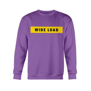 WIDELOAD Classic Fit Crewneck Sweatshirt-Sweatshirts-Purple-S-AllGo
