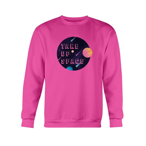 Take Up Space Classic Fit Crewneck Sweatshirt-Sweatshirts-Heliconia-S-AllGo