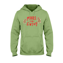 Load image into Gallery viewer, More to Enjoy Classic Fit Pullover Hooded Sweatshirt-Sweatshirts-Kiwi-S-AllGo