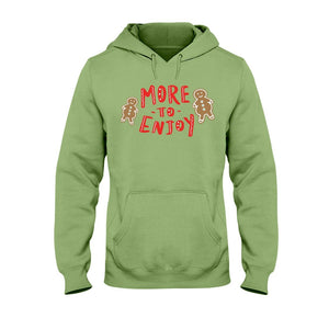 More to Enjoy Classic Fit Pullover Hooded Sweatshirt-Sweatshirts-Kiwi-S-AllGo