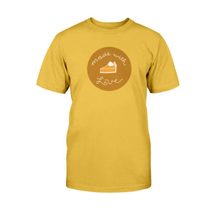 Made with Love Classic Fit Tagless T-Shirt-Shirts-Gold-S-AllGo