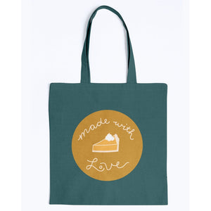 Made with Love Canvas Tote-Accessories-Forest-M-AllGo