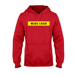 WIDELOAD Classic Fit Pullover Hooded Sweatshirt-Sweatshirts-Cherry Red-S-AllGo