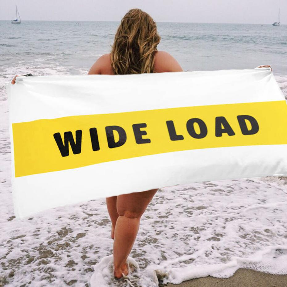 WIDELOAD Beach Towel-Towels-White-One Size-AllGo
