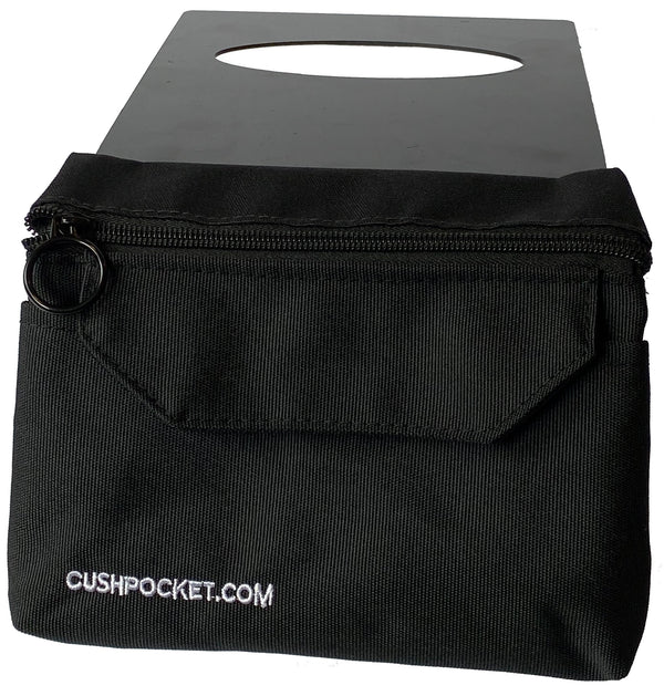 The Cushpocket™ Wheelchair Seat Cushion Storage