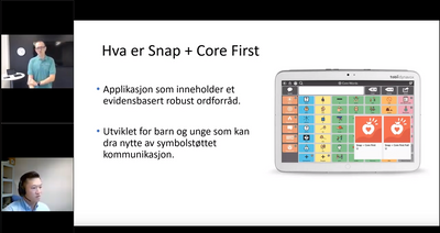 Webinar: Snap + Core First: Tilpassing og redigering