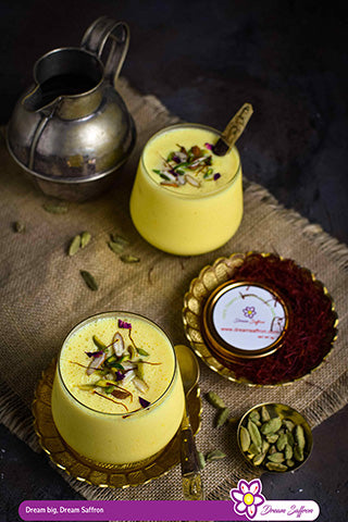 SAFFRON YOGURT