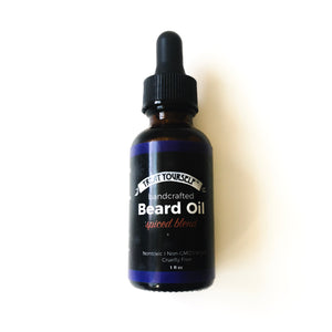 handcrafted beard oil