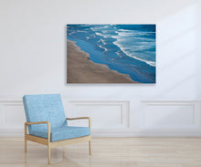 Ocean Beach Photography Print,  Oregon Coast, Ready to Hang Metal Wall Art for Home or Office Picture Decor, Free shipping in USA