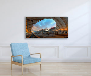 Iconic Denver Photo, High Quality Metal Wall Art Print, Ready to Hang Home or Office Picture Decor, Zen Decor, Free Shipping in USA!