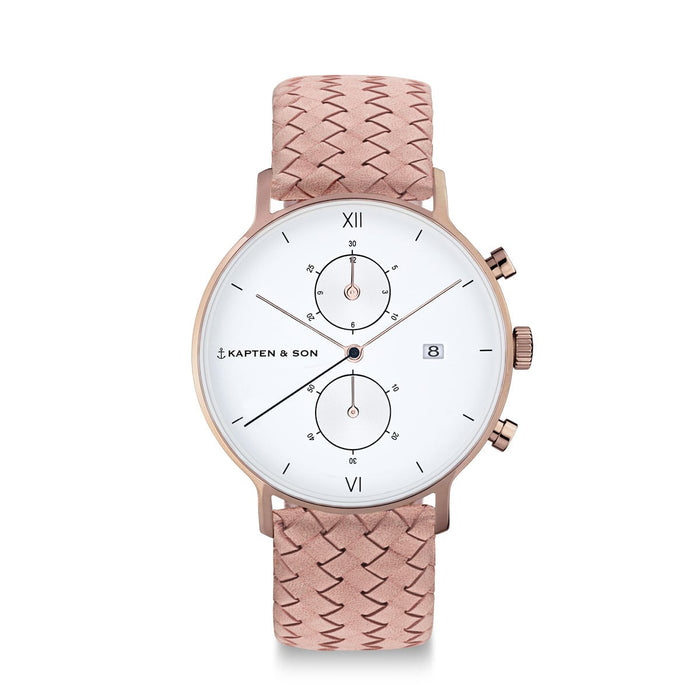 "Chrono Leather - Chrono ""Rose Woven Leather"""
