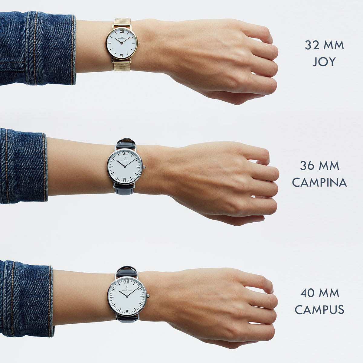 "Campina Silver ""Grey Vintage Leather"""
