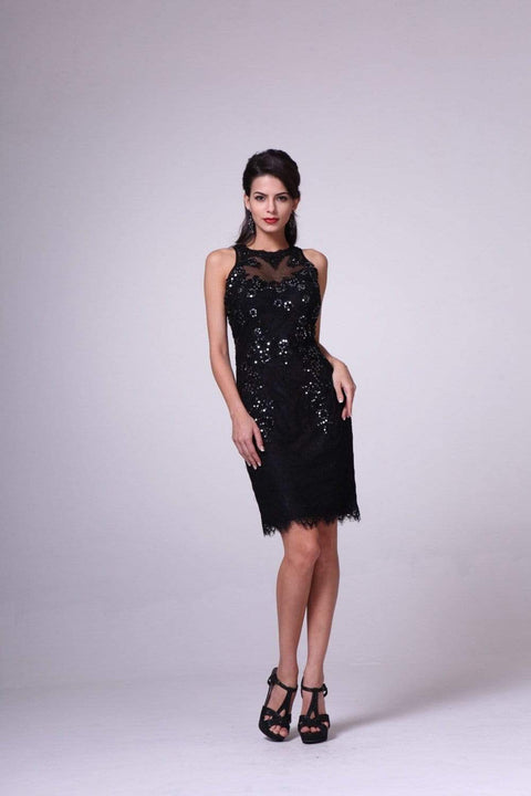 DRESS PEOPLE BLACK / 8 JC3455