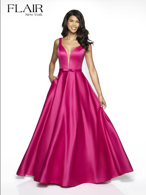 FLAIR Dress 10 / Hot Pink 19017