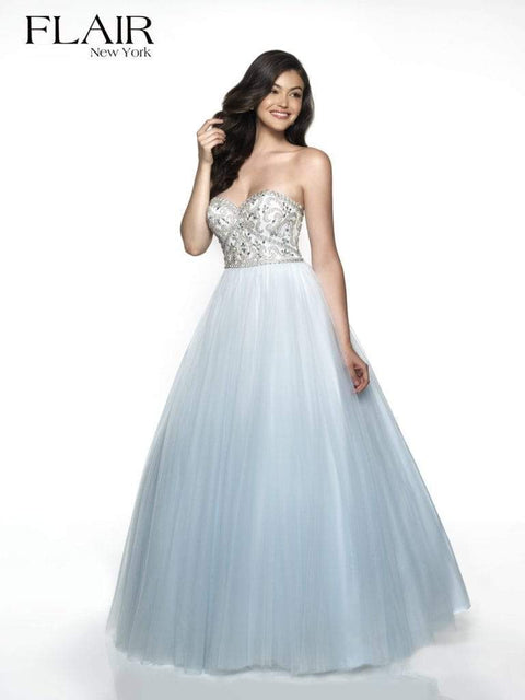 FLAIR Dress 2 / Powder Blue 19073