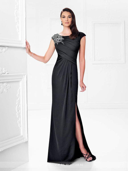 Mon Cheri Dress 18 / Black 117923