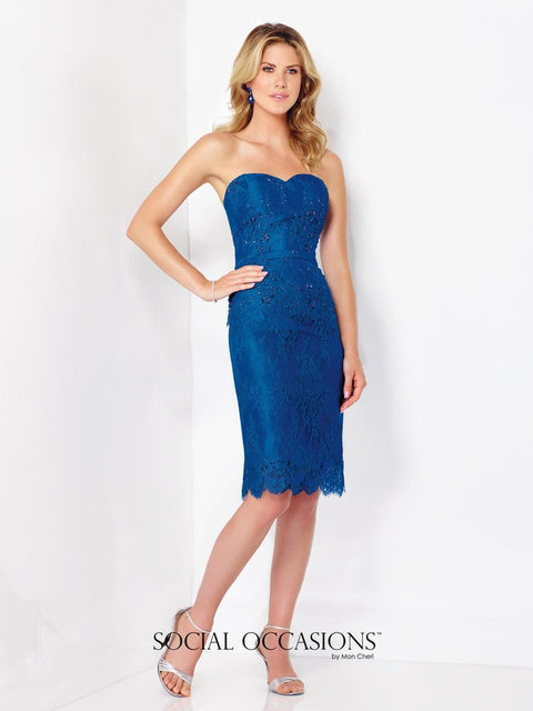 Mon Cheri Dress 18 / Royal Blue 116845