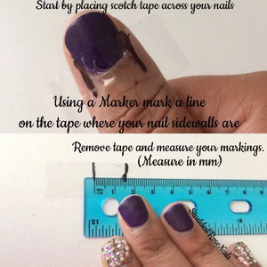 Glam-A-corn Accent Nails