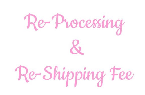 Re-Processing & Re-Shipping Fee
